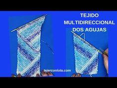 TEJIDO MULTIDIRECCIONAL A DOS AGUJAS - YouTube
