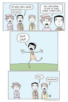 Poorly Drawn Lines – Gatsby Party