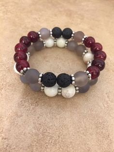 A personal favorite from my Etsy shop https://www.etsy.com/listing/519828530/diffuser-bracelet-set