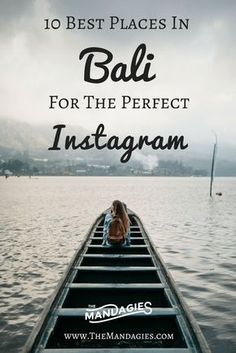 For this post, we'd thought it would be fun to give you the inside scoop on the best Instagram spots in Bali! There are SO many places, but here we narrowed it down to our 10 favorite. Enjoy!