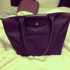longchamp bags shoulder bags hand bags leather lining Longchamp Neo, Longchamp Backpack, Street Style Women, Street Styles, Small Handbags, Fashion Handbags, Tote Bag, Designer Purses, Designer Handbags