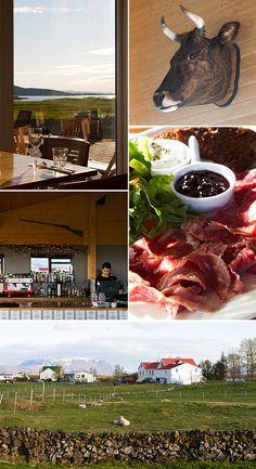 Cowshed Cafe, Vogafjos, Iceland |www.strudelandcream.com