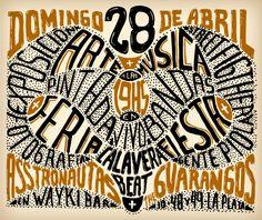 Flyer para muestra de arte independiente