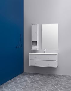 WASH 1 from Montana Collection – wash yourself in shapes and colours. Cupboard Storage, Storage Shelves, Shelving, Small Bathroom, Feminine Bathroom, Modern Bathrooms, Montana Furniture, Wet Rooms, Bathroom Furniture