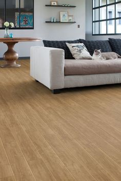 Primetex is Gerflor's textile backed looselay vinyl roll flooring for residential applications, offering good resistance to shocks, scratches and tears Vinyl Flooring Rolls, Vinyl Tiles, Home Comforts, Plank, Sofas, Couch, Living Room, Classic, Modern