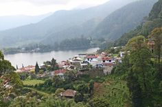 Telaga Sarangan in Magetan, Jawa Timur