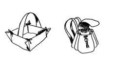 ikat bag: Make A Bag Chapter 13: The Seventh Bag - Pleats and Folds