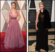 Scarlett Johansson - oscar X vanity fair 2017 Scarlett Johansson, Vanity Fair, Red Carpet, Formal Dresses, Party, Fashion, Tea Length Formal Dresses, Moda, Formal Gowns