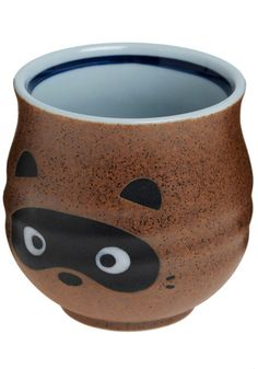 Anim-all Taken Care of Mug in Raccoon from ModCloth. I actually made a cup like this today. Easy. So Cute!
