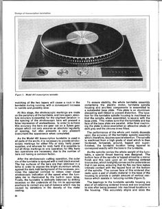Articles by E.W. Mortimer, Garrard Chief Engineer (page 1) - Other Turntables - Lenco Heaven Turntable Forum