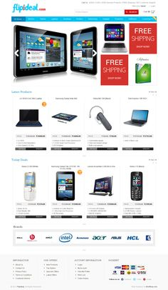 Branded laptops and mobiles best price in India. http://www.flipideal.com/