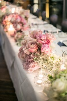 Flower arrangements at Catalina for the wedding reception. Flower Arrangements, Wedding Reception, Wedding Flowers, Table Decorations, Home Decor, Marriage Reception, Floral Arrangements, Wedding Reception Ideas, Interior Design