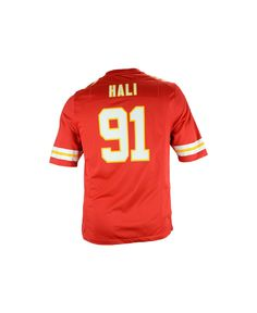 NFL Jersey's Youth Kansas City Chiefs Derrick Johnson Nike Red Team Color Game Jersey