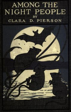 Book cover.Among the night people. 1902.