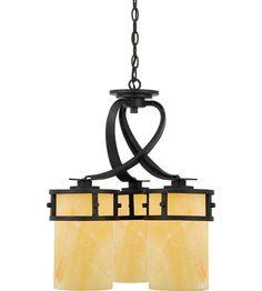 Quoizel Lighting Kyle 3 Light Chandelier in Imperial Bronze KY5103IB #lighting