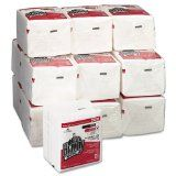 Brawny Industrial 29215 All Purpose Airlaid Wiper (Case of 16 Packs 50 per Pack)