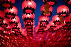 lanterns at bongeunsa temple - south korea