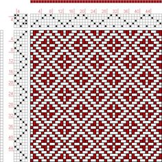 Hand Weaving Draft: Page 122, Figure 33, Donat, Franz Large Book of Textile Patterns, 5S, 5T - Handweaving.net Hand Weaving and Draft Archive