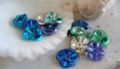 Mermaid FlowersMermaid craft embellishments by FlauntingCharms, $1.00