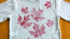 Show your Canadian spirit this Canada Day by sporting some homemade holiday wear! Check out these quick and easy DIY Canada Day outfit ideas. Happy Birthday Canada, Happy Canada Day, Canada Day Shirts, Canada Day Crafts, Canada Holiday, Canada 150, Leaf Crafts, Textiles, Thinking Day