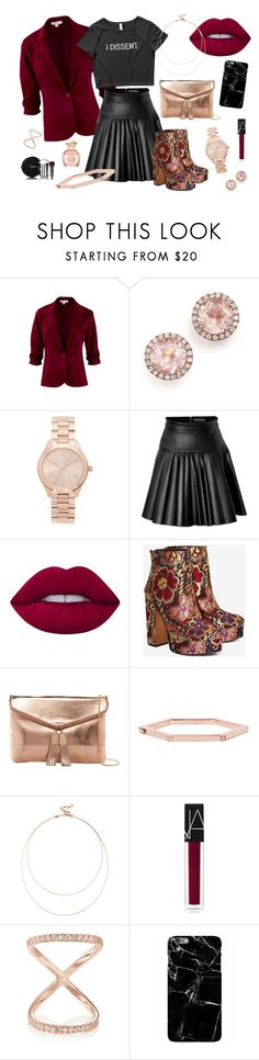 """After Work Dissidence"" by wearyourdissent on Polyvore featuring Dana Rebecca Designs, Michael Kors, David Koma, Lime Crime, Shellys, Urban Expressions, Tory Burch, Sole Society, NARS Cosmetics and Carbon & Hyde"