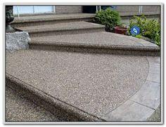 Exposed Aggregate Concrete Patio Ideas Patios : Home - Alles für den Garten Concrete Patios, Outdoor Patio Pavers, Outdoor Stone, Small Backyard Patio, Backyard Patio Designs, Brick Patios, Patio Ideas, Porch Ideas, Outdoor Fun