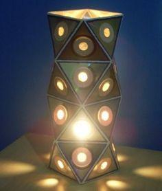 EL MUNDO DEL RECICLAJE: CD lamps