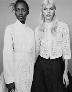 inspiration for www.duefashion.com  kai newman and devon windsor by benjamin lennox for v magazine #87