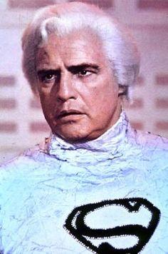 """Marlon Brando as Jor-El in """"Superman"""" (1978)"""