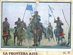 La frontera azul