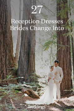 21 Reception Dresses Brides Changed Into for Their Parties Bride Reception Dresses, Second Wedding Dresses, Second Weddings, Wedding Reception, Martha Stewart Weddings, Wedding Bride, Brides, Parties, Change