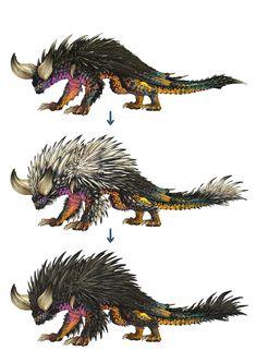 Monster Hunter: World Bestiary Day 3 – The Destructive Titan Nergigante - Features - Monster Concept Art, Fantasy Monster, Monster Art, Monster Hunter Memes, Monster Hunter 3rd, Creature Concept Art, Creature Design, Mythical Creatures Art, Fantasy Creatures