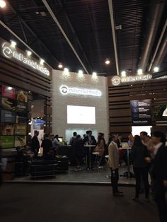 Millennial wins the vote for shiniest stand in show! #MWC