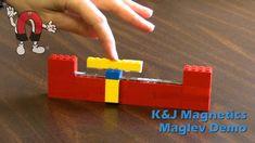 Maglev Train Demonstration using Legos