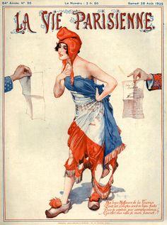 Chéri Hérouard (1881-1961). La Vie Parisienne, 28 Août  1926. [Pinned 6-ii-2015]