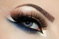 Arabic inspired eye liner