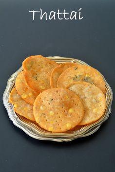Palakkad Chamayal: Thattai - Easy Janmashtami Recipes