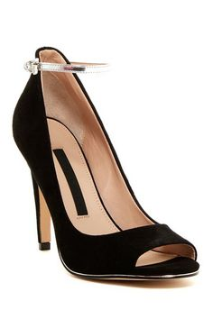 French Connection Neola Ankle Strap Pump by Non Specific on @HauteLook
