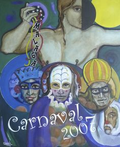 Carnaval de Málaga de 2007, obra de Victor Puyuelo #carnaval #Malaga #carnavalMLG #carteles #diseño