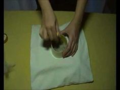 Διακόσμηση μαξιλαριού με την τεχνικη φελτ.wmv - YouTube