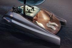 Icona Fibonacci Catamaran Concept.