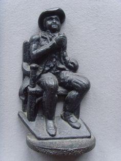 Antiques Atlas - 19th C. Cast Iron Drinking Man Door Porter/Stop