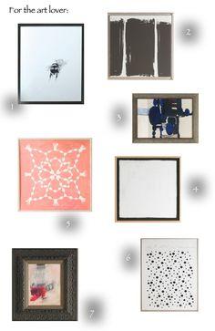 Art lover-central from @rusticmodernist | #DwellStudio #Art #Modern #Home #Decor