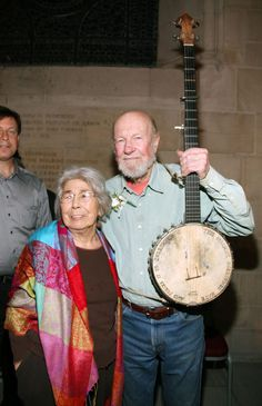 Folk Singer Pete Seeger's Wife Toshi Seeger Dies At 91