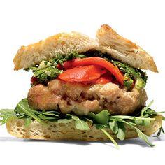 Lentil Quinoa Burgers with Sauteed Mushrooms http://www.womenshealthmag.com/food/veggie-burger-recipes?slide=1