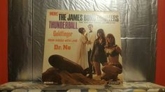 The James Bond Thrillers, vintage record album by TheRecycledGreenRose on Etsy