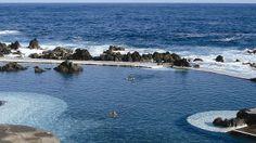 Madeira: diez paisajes que brillan tanto como Cristiano Ronaldo, Piscinas naturales junto al mar en Madeira Portugal