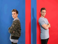 Joe Sugg And Caspar Lee Compete In Hilarious US-Themed Challenges Jimmy Tatro, Buttercream Squad, Cody Ko, Youtube Vines, Summer Mckeen, Hannah Stocking, Famous Youtubers, Caspar Lee, Vlog Squad