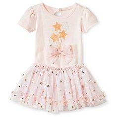 Baby Starters 2 Piece Star Bodysuit & Tutu Skirt Set - Pink