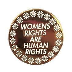 Show off your feminist side and rock this pin on your work bag, denim jacket, purse or anything else you can think of! Would make a perfect gift for girlfriends